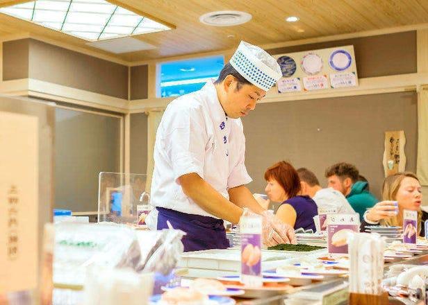 일본 음식점에서 관광객 대응을 위해 실시하고 있는 서비스.