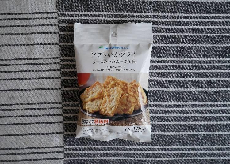 【日本FamilyMart】 FamilyMart Collection軟式炸魷魚片 起士美乃滋口味(ソフトいかフライ ソース&マヨネーズ風味)