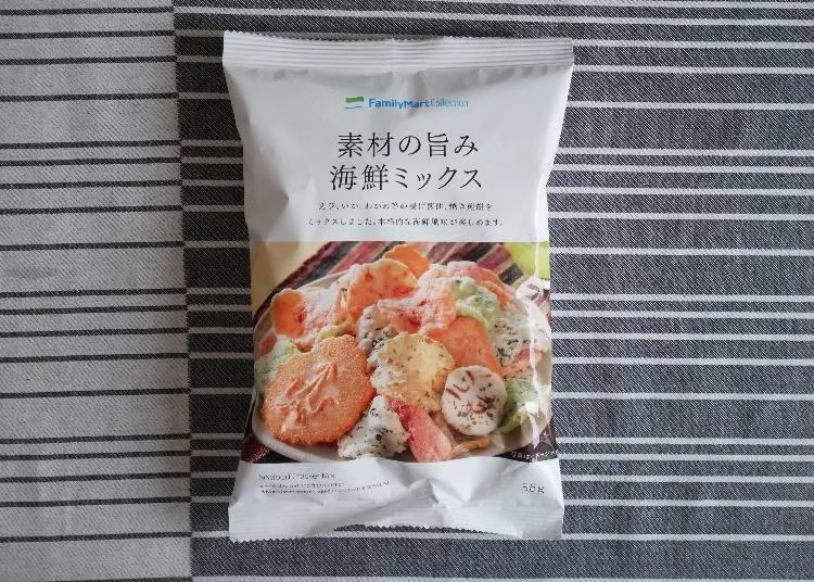 FamilyMart Collection綜合海鮮米菓(素材の旨み海鮮ミックス)