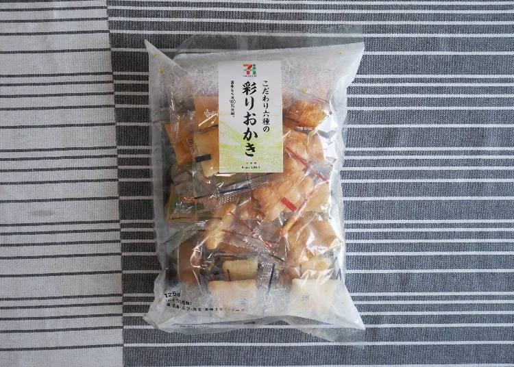 SEVEN & i PREMIUM六種口味仙貝(こだわり六種の彩りおかき)