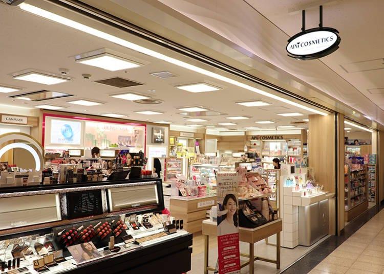 ■人気化粧品を多数扱う「APii COSMETICS」