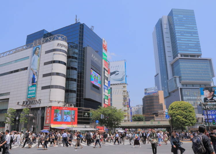 Shibuya is replete with shopping areas featuring the latest trends!