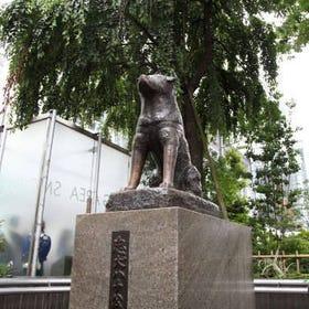 忠犬八公銅像