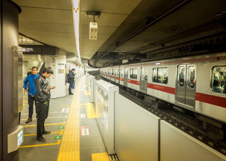 ■Impression 4: It's easy to change trains since they're all part of the same system