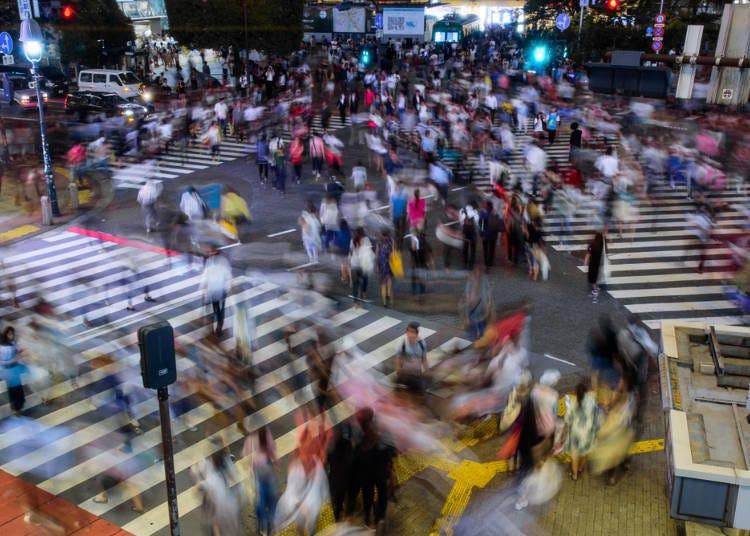 ■還以為澀谷站前十字路口是日本的時報廣場,結果...