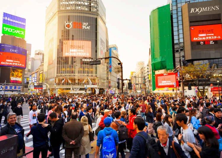 ■還以為出澀谷站之後馬上就會是觀光景點,結果...