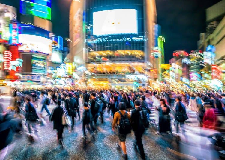 理由1:想體驗東京這座大城市的都會魅力就不能錯過澀谷!