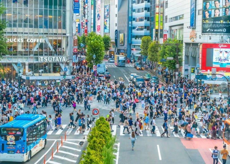 理由5:澀谷就是時尚、流行、刺激都可以一手掌握的最強地區!