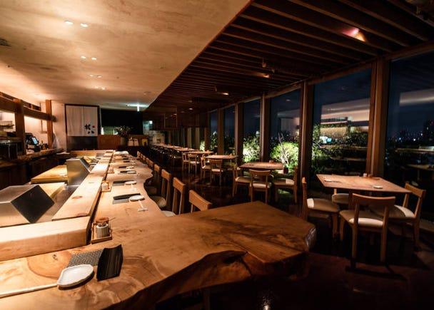 能一览涩谷街景的人气高级寿司店「SUSHI权八涩谷」