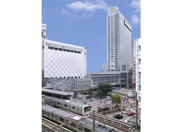 1. Shibuya Excel Hotel Tokyu: Directly accessible from Shibuya Station