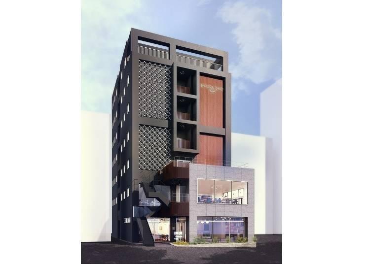 2. HOTEL EMIT SHIBUYA: Smart Design and Service in 4 Languages