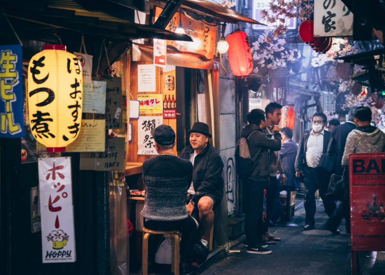 ■일본의 선술집이 너무 재밌다는 20대 미국인 남성의 추천