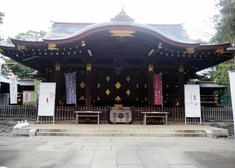 渋谷最古の神社で恋愛祈願!渋谷氷川神社