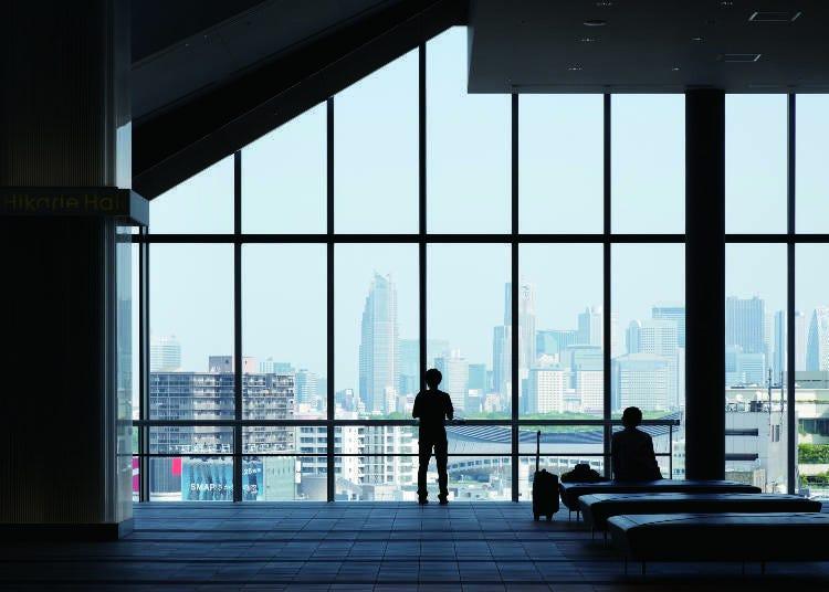 放眼眺望涩谷的街景:涩谷Hikarie Sky Lobby