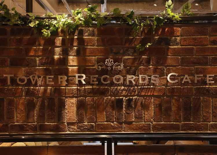 TOWER RECORDS CAFE Shibuya: For all the J-Music lovers out there, perfect for sharing right off the bat!
