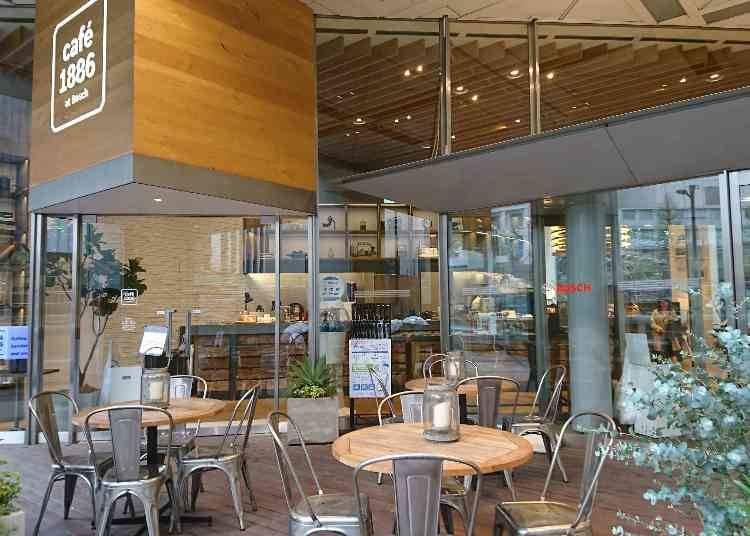 ドイツのBoschが運営する、こだわりの詰まった「café 1886 at Bosch」
