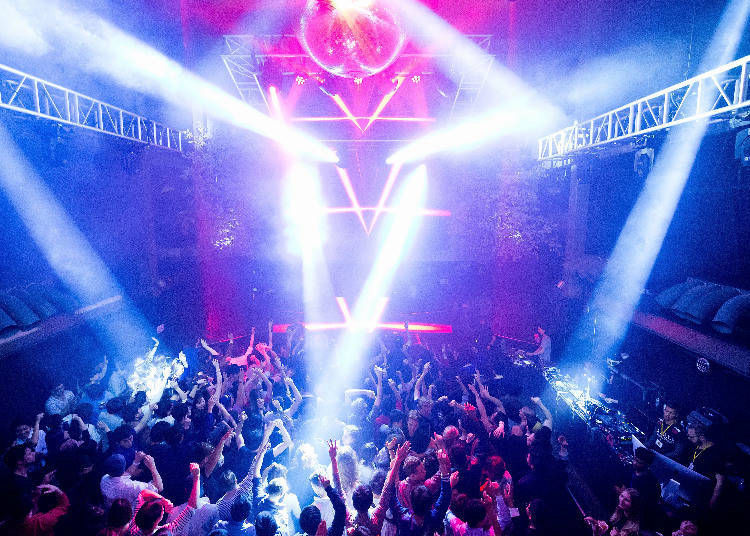 1. WOMB: Synonymous with clubbing in Shibuya! Japan's top DJs also play here