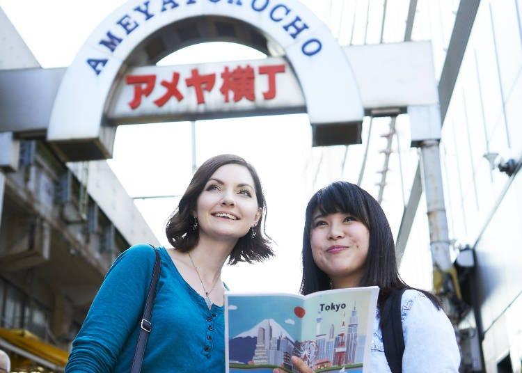 上野周辺の観光地&スポット
