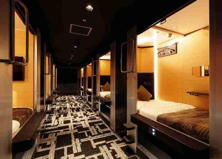 4. MyCUBE by MYSTAYS Asakusa Kuramae: The next evolution of Ueno capsule hotels