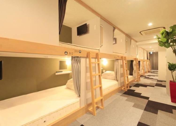 【适合只身一人的女性】 价格和设备都能满足的女性专用旅馆「百夫长女士旅馆上野公园」