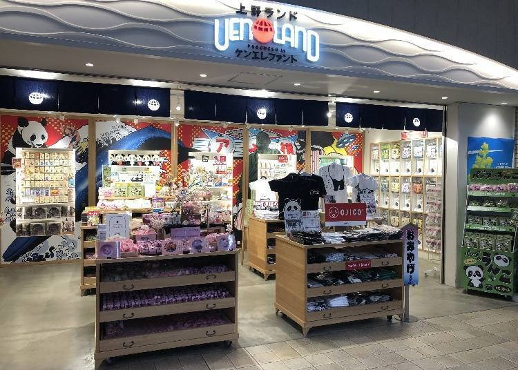 Uenoland: The place to go to for Ueno specialty souvenirs