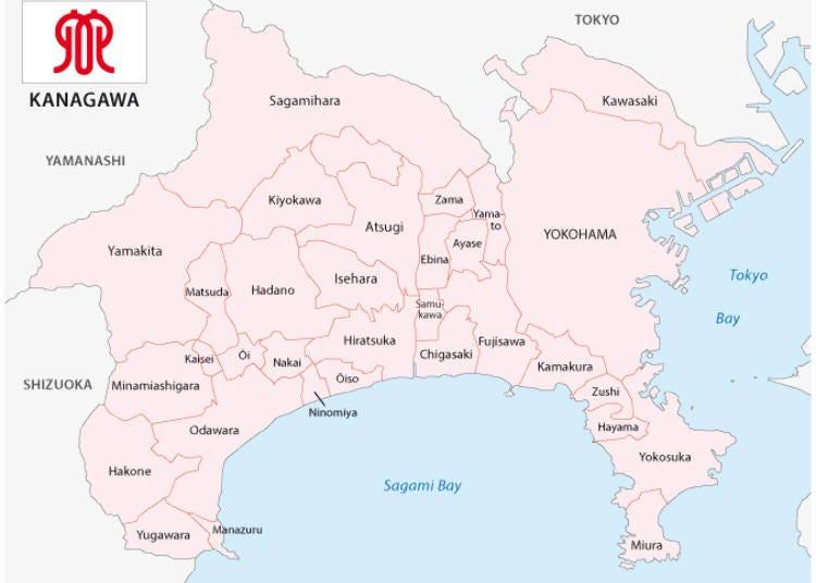 三浦半島ってどこにある?