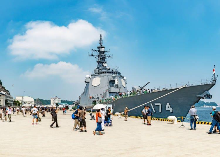 三浦半島推薦的觀光景點②橫須賀區域