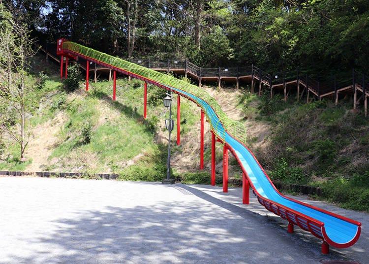 Enjoy athletics at the Playground Complex