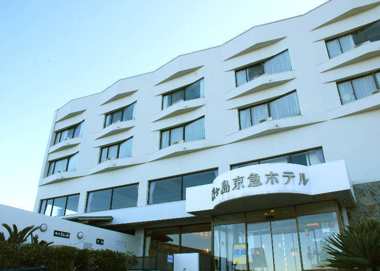 2. Jogashima Keikyu Hotel's Relaxing Thermal Baths and a View of Mount Fuji