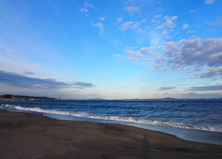 ボーナススポット::三浦海岸で海風を感じて!