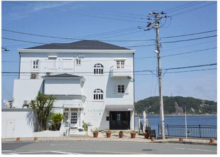 葉山咖啡廳④「LA MARĒE」露天座位眺望海景,當地魚貝時蔬滿足味蕾