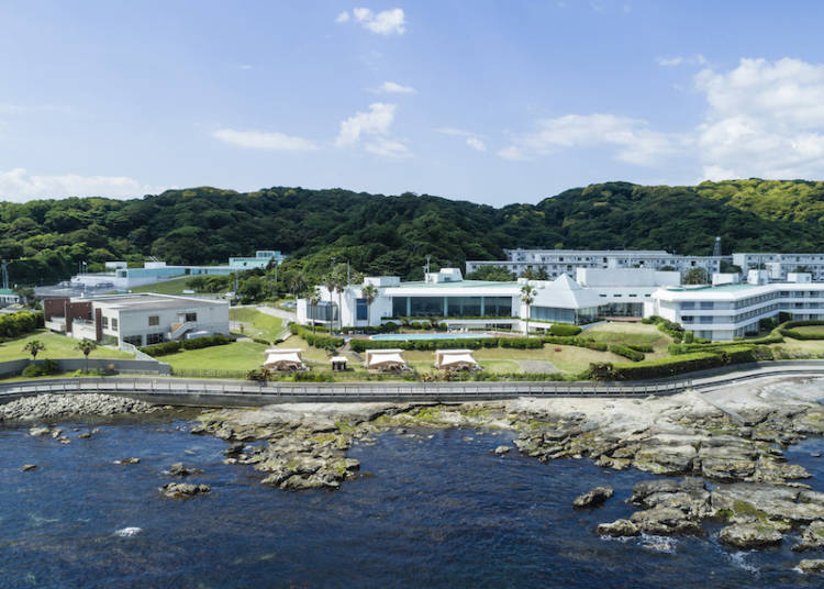 ■Kannonzaki Keikyu Hotel: All Your Spa and Glamping Dreams Fulfilled