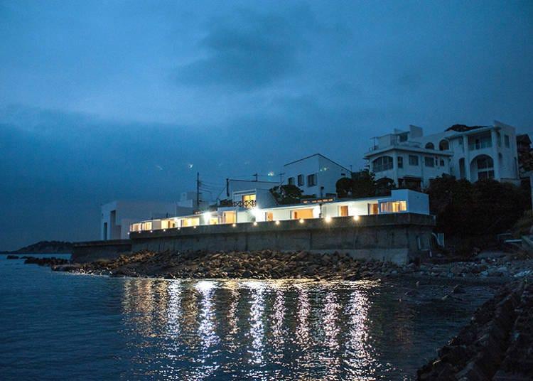 ■호캉스 스폿4_ 해변가의 모던한 건축물에서 보내는 로맨틱한 바캉스 'HAYAMA Funny House'