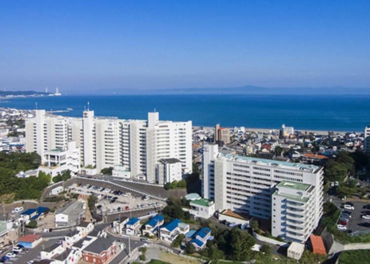 東京度假Hocance①天然溫泉和寬闊的面海客房「Moholova Minds三浦」