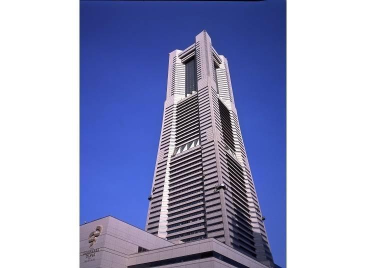 1. The Yokohama Landmark Tower, Towering at 296m High!