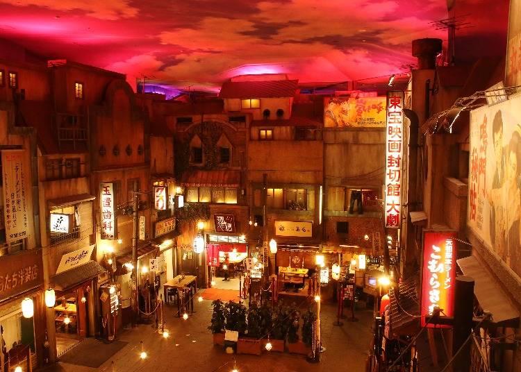 お酒と一緒にラーメンも楽しめる「新横浜ラーメン博物館」