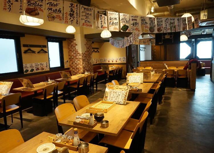 安くて本格的「天ぷらとおでん 東京TEMPLAND 新横浜店」