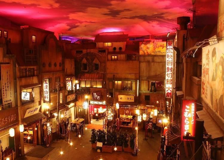 可以享受吃拉面配酒的「新横滨拉面博物馆」