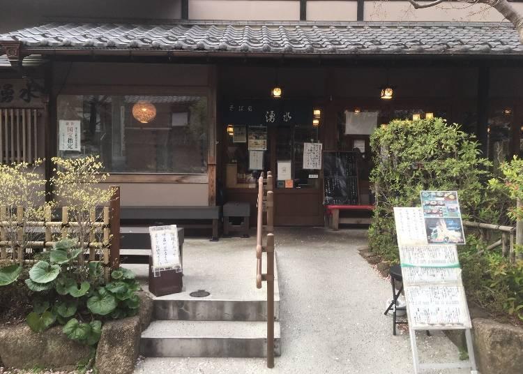 人氣的秘密手打「9割蕎麥麵」!排隊人氣名店「湧水(yuusui)」