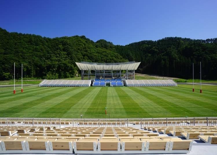 Kamaishi Recovery Memorial Stadium: Just Opened in 2018!