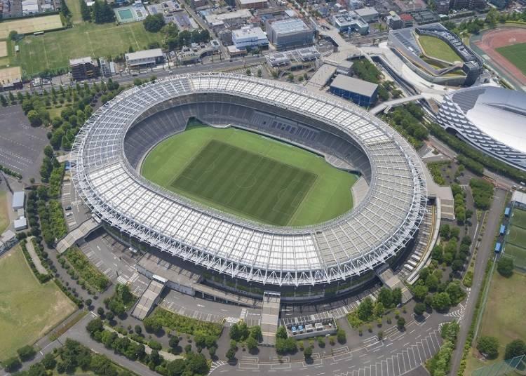 開会式、開幕戦がおこなわれる「東京スタジアム」