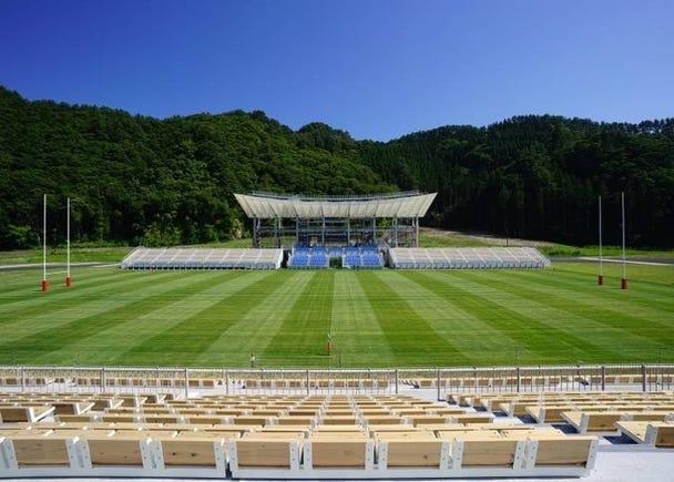 2018年啟用!才剛開幕的「釜石鵜住居復興體育場」