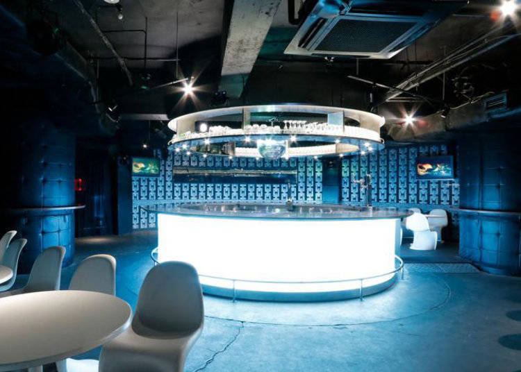 4. Kitsune Shibuya: Chartered spaces and private rooms - highly recommended for couples too!