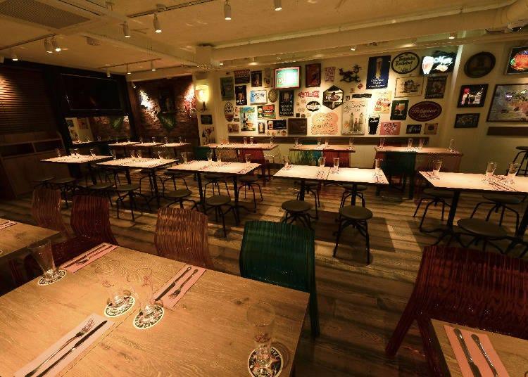 対戦国のビールも飲めちゃう!?「樽生直輸入ビアレストラン クラフトビールタップ新宿東口店」