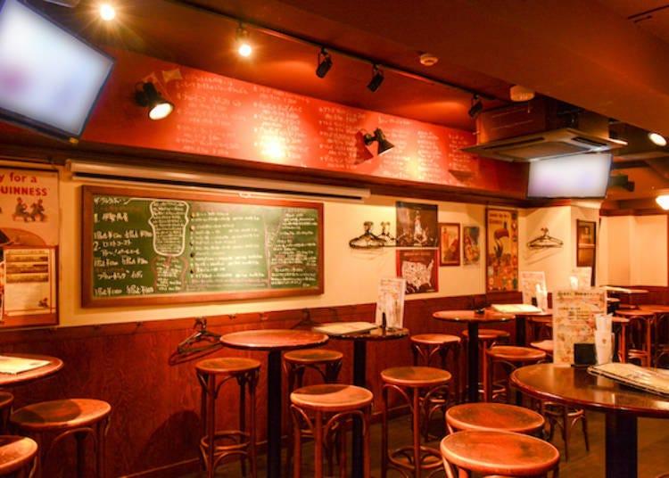 店長是橄欖球迷!哪個位置都能看到螢幕轉播的傳統英國酒吧「The Cluriaune」