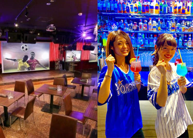 一起疯橄榄球吧!精选5间横滨运动酒吧SPORTS BAR・SHOP