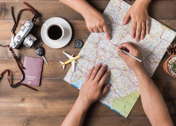 旅行のプラン、適当でもいいのに細かすぎる!