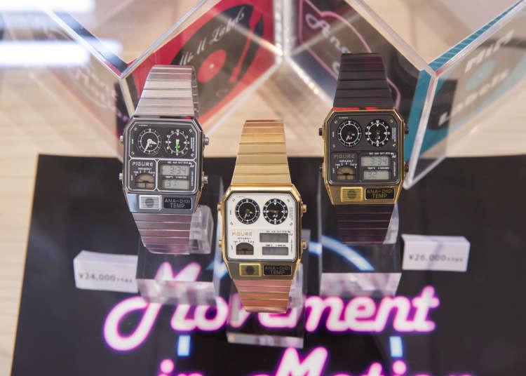 來日本旅行的伴手禮,最受歡迎的新選擇 來TiCTAC鐘錶精品店,挑個時髦手錶吧!