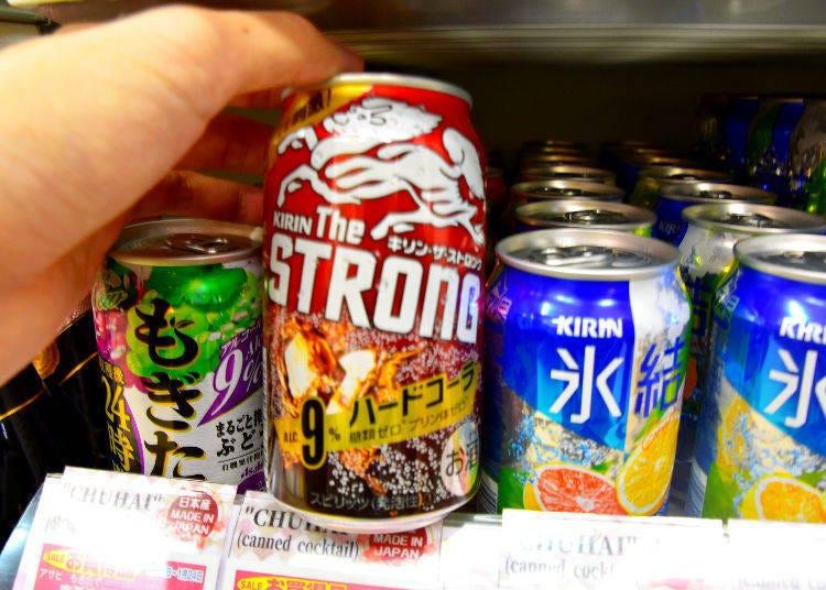 Kirin The Strong Hard Cola 350ml (Kirin)