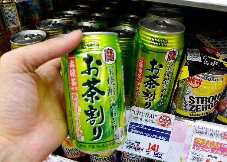 Chu-hai推薦⑩【寶酒造】寶燒酎的やわらかお茶割り335ml